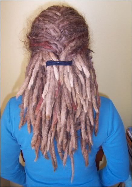 Hairstyles for Half Dreads Huge Freaking Dreadlock Timeline Dread Hairstyles