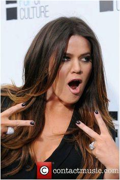 Woop Long Bangs Khloe Kardashian Love Hair Celebrity Quotes Jenner Style