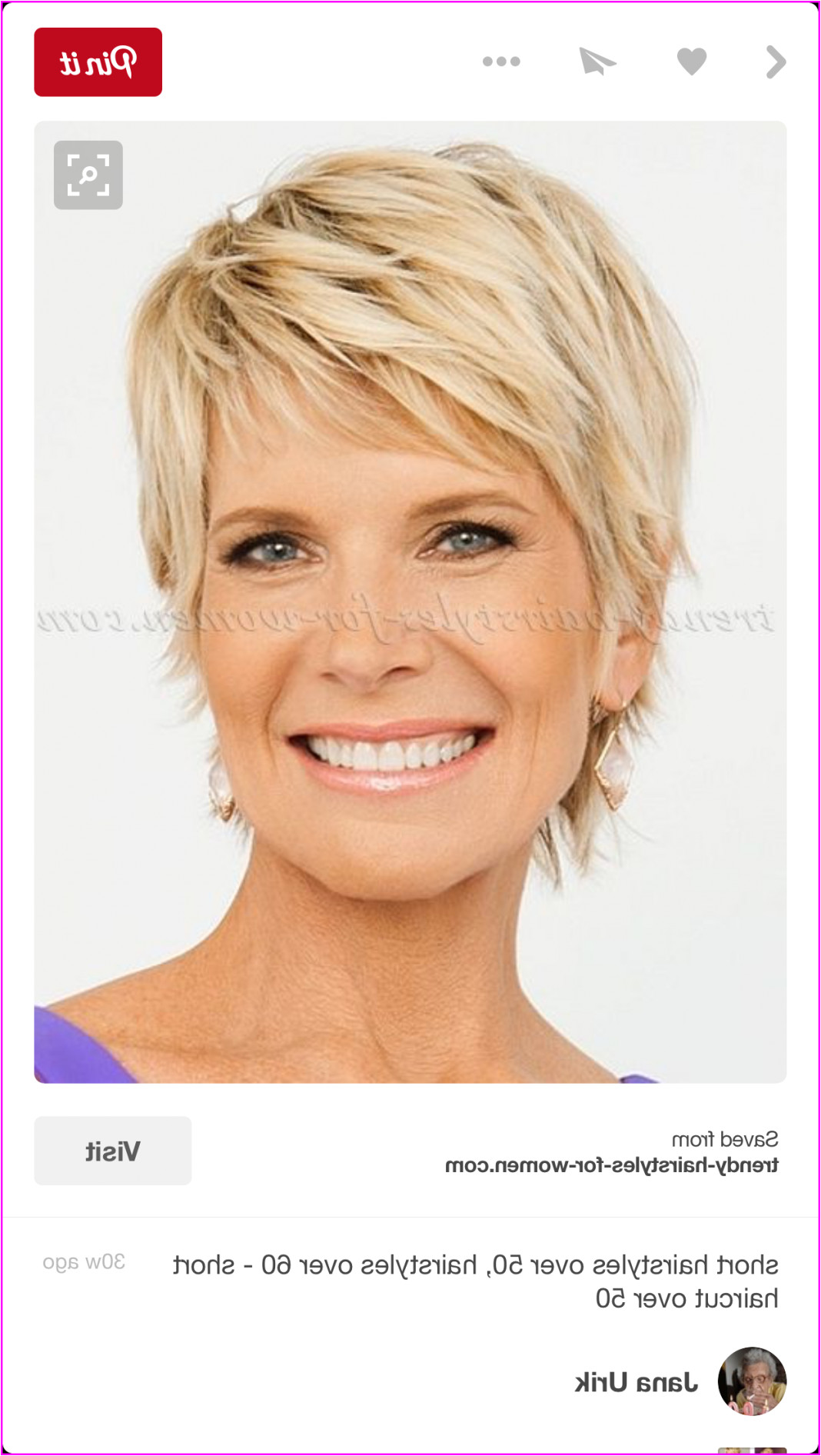 Edgy Short Hairstyles for Women Over 50 Best Short Haircuts 2019