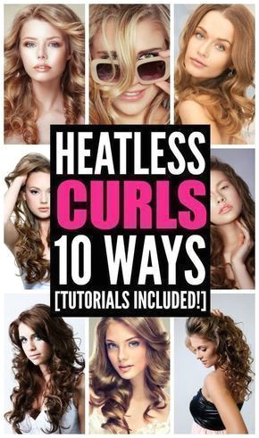 Curly hair takes time and means heat damage to your locks right Actu… Hair by Brittany Ferrell Pinterest
