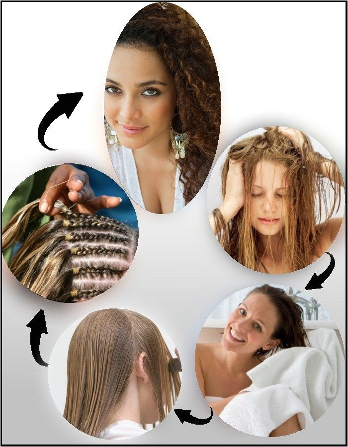 Genius Hairstyle Hacks How to Make Your Hair Curly Hair Pinterest