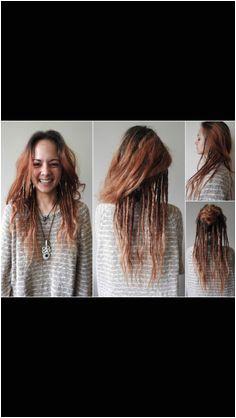 Partial dreads …