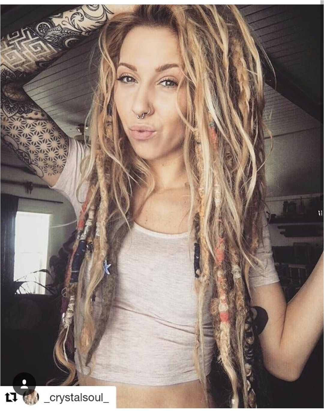 ink x dreads
