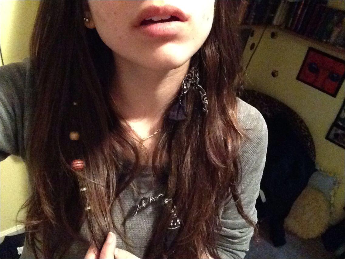 Partial dreads💕 beads dreads cute hair