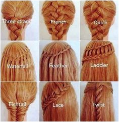 There are a lot of different braid types
