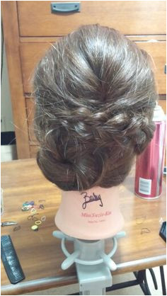 For rainy days hairstyle updo