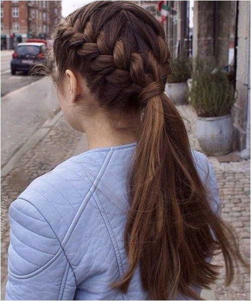 Beautiful Double Braided Hairstyles 2018 for Teenage Girls