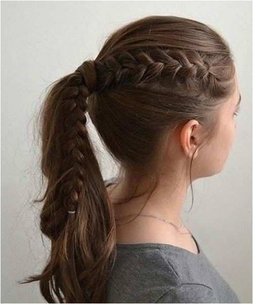 And Easy Hairstyles For School · School Girls Hairstyle New Elegant Cute Hairstyle For School Girl