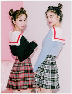 Buy chuu Pleated Plaid Mini Skirt