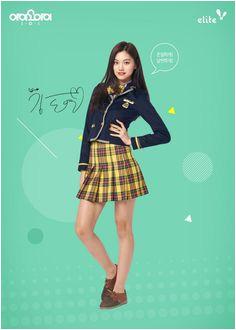 I O I x Elite Elite I O I KimDoyeon Kari Shaw · Korean School Uniform