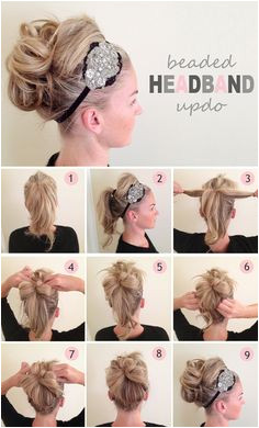 Untitled girl hair styles Easy Hairstyles Hairstyles With Headbands Easy Wedding Guest Hairstyles