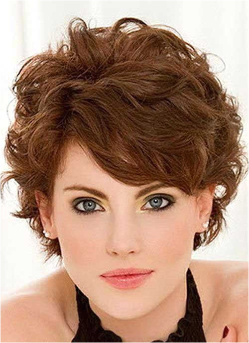 Short Haircut for Thick Wavy Hair Side View