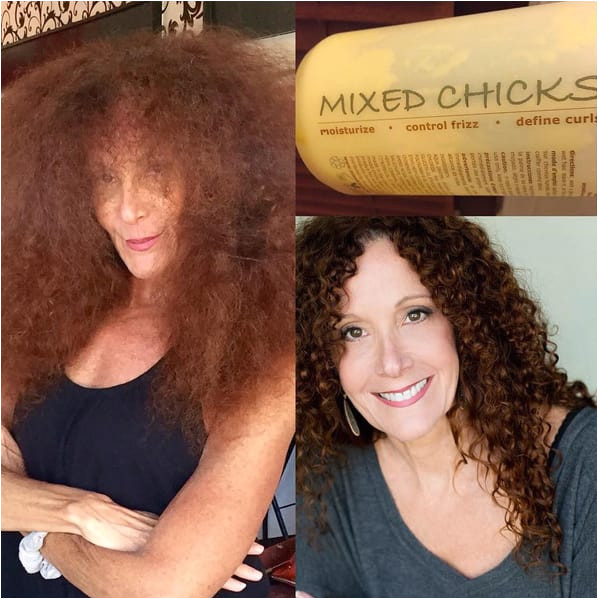 """""""Use Mixed Chicks leave in conditioner on curly hair It really works"""