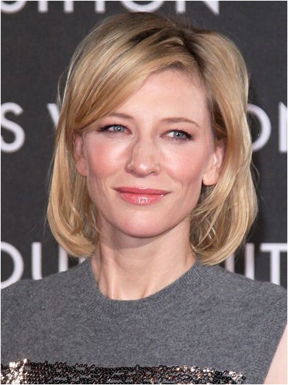 A short layered bob like Cate Blanchett s is a great low maintenance hairstyle that