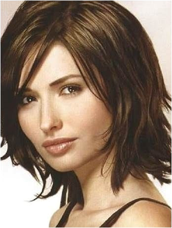 Medium Hairstyles for Women Over 40 with Fine Hair and round face Bing by osa