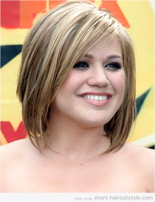 Short Hairstyles for Fat Faces and Thin Hair 2014