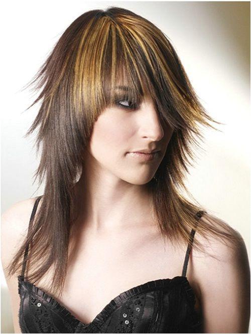 Choppy Hairstyles For Long Thin Hair