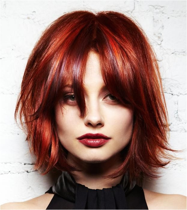 Red Hairstyles Ideas Every Girl Should Try ce Hairstyles & Makeup