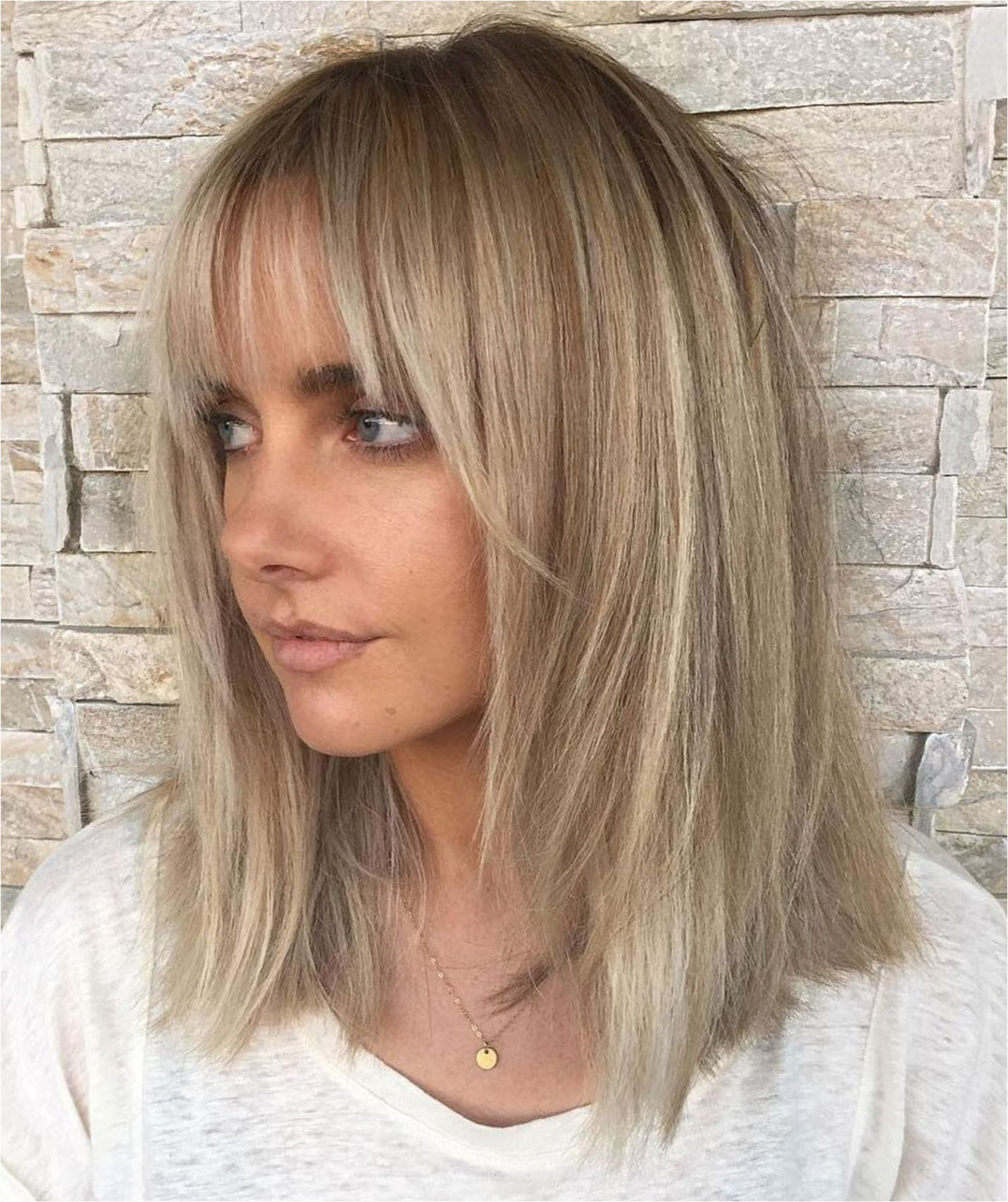 Hairstyles for Thinning Hair In Front Woman 60 Fun and Flattering Medium Hairstyles for Women Hair