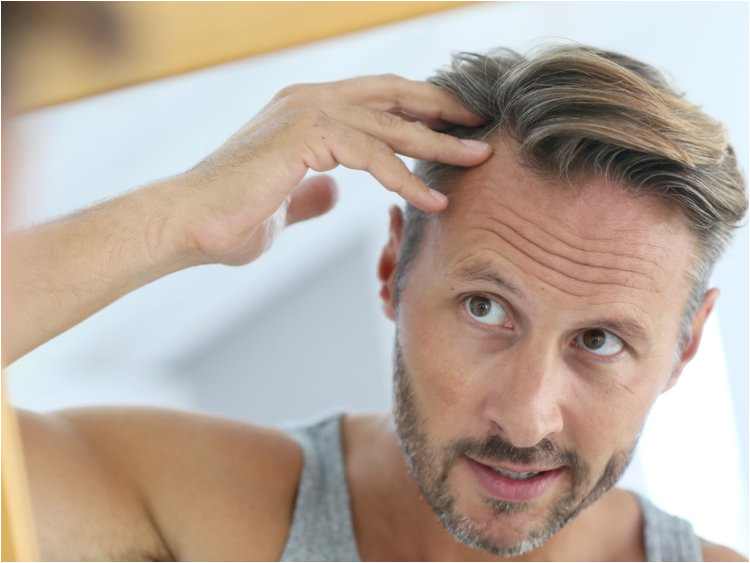 If you have thinning hair avoid using hair products that are too oily or heavy