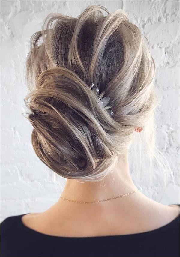 Tousled Hair Wedding Hairstyles Wedding Updo Bridesmaid Hairstyles Wedding Bride Long