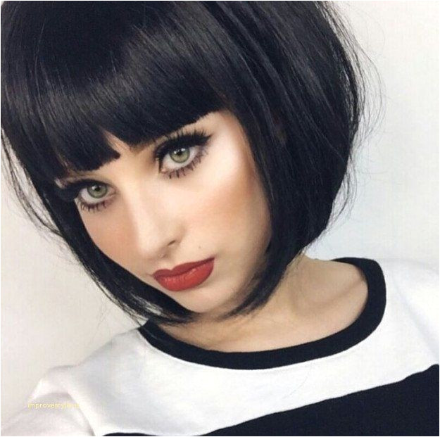 Cute Hairstyles for Short Haired Girls Fresh Short Bob Hairstyles 7161 Short Goth Hairstyles New Goth