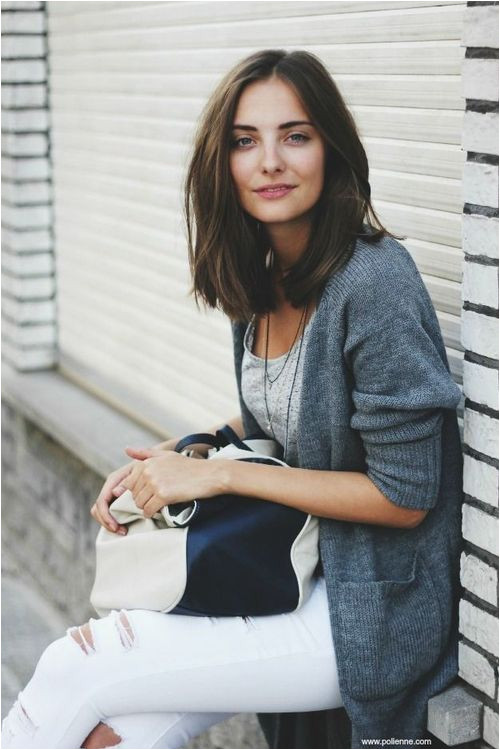 Oh my word this makes me want to cut my hair into a long bob Hair Inspiration