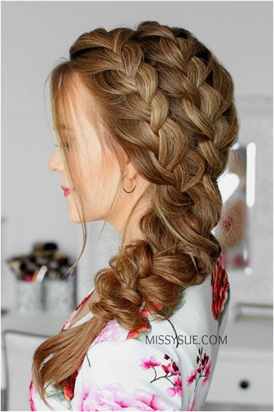 Double Side French Braids