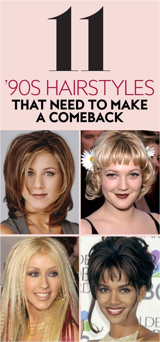 This decade is the t that keeps on giving 90s hairstyles iconichairstyles
