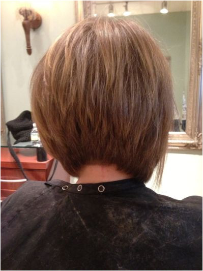 Hairstyles Graduated Bob Back View Gorgeous A Line Bob View Hair Cuts In 2019