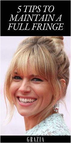 5 Tips To Maintain A Full Fringe & How To Style Grown Out Bangs