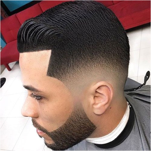 Shape Up Haircut and Beard Low Fade Brushed Up Front