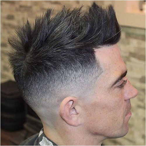 Faux Mohawk Fade Line Up