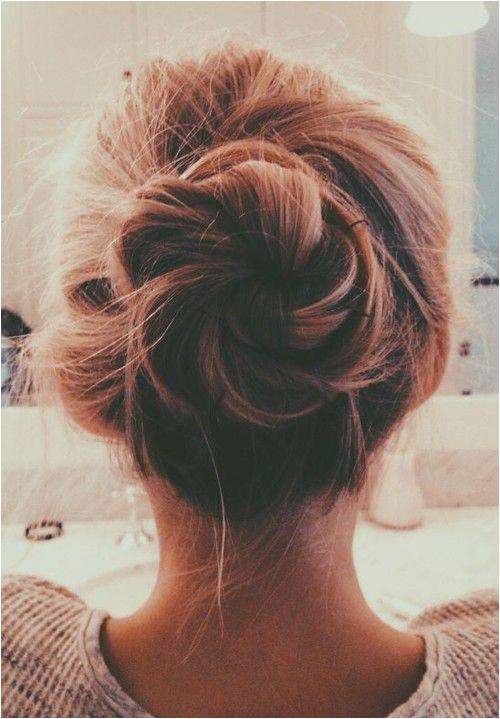messy bun hairstyle tumblr Google Search
