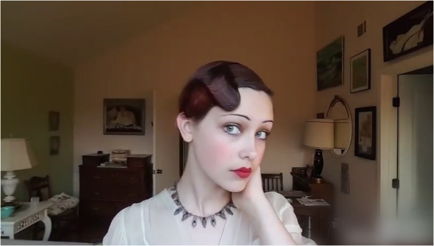 0d · 1920 Girl Hairstyles Inspirational How To Style A 1930 S Finger Wave Hairstyle With