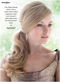 """They are apt for any occasion whether itRead More Easy & Beautiful Side Ponytail Hairstyles for La s"""""""