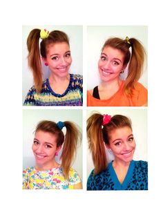 hair loved the side pony with a scrunchie