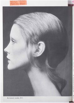 Vintage hairstyle from HJ dating back to the 1970s 1970 Hairstyles Vintage Hairstyles