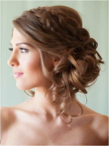 30 Hottest Wedding Hairstyles Page 73 of 100 HairPush Bridal Hairstyles Bridesmaid Side
