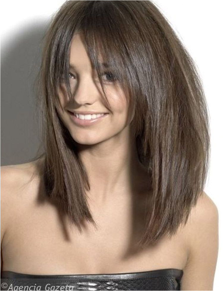 Image result for long bob with long bangs Medium Layered Bob Hairstyles Medium Layered Bob Hairstyles Razor Cut
