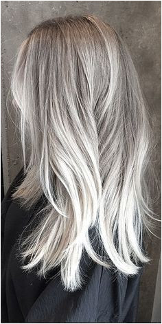 long gray hair More