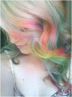 A guide to opal hair Pastel Rainbow Hair Neon Hair Pastel Hair Colorful