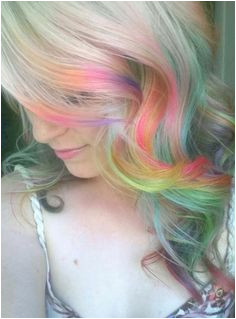 Hairstyles to Hide Dyed Tips 109 Best Hiding Rainbows In Her Hair Images On Pinterest