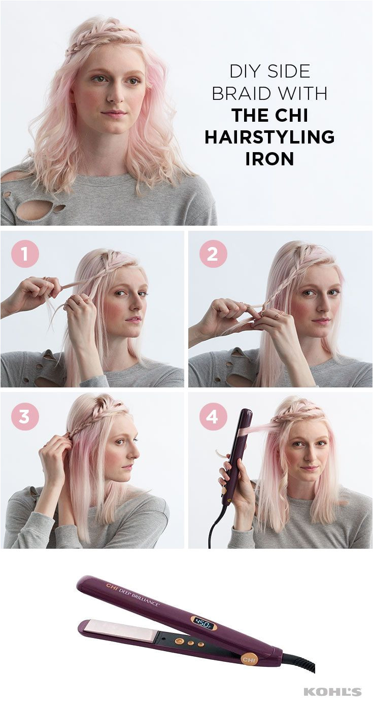 This ethereal hairstyle is perfect for keeping your hair off your face and a twist on special occasion hair And it s easy to DIY to boot