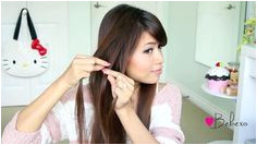 Fold over Lace Braid Updo Hairstyle Hair Tutorial video dailymotion