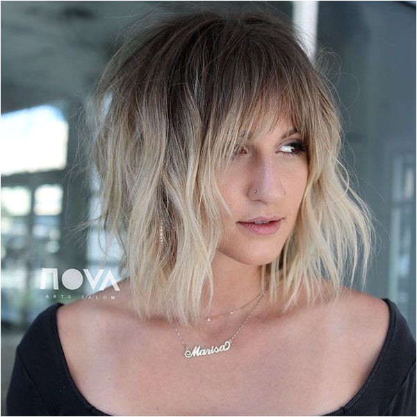 40 Short Hairstyles with Bangs 2019