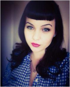 Bettie bangs Short Fringe Bangs Edgy Short Hair Short Hair Styles Retro Hairstyles