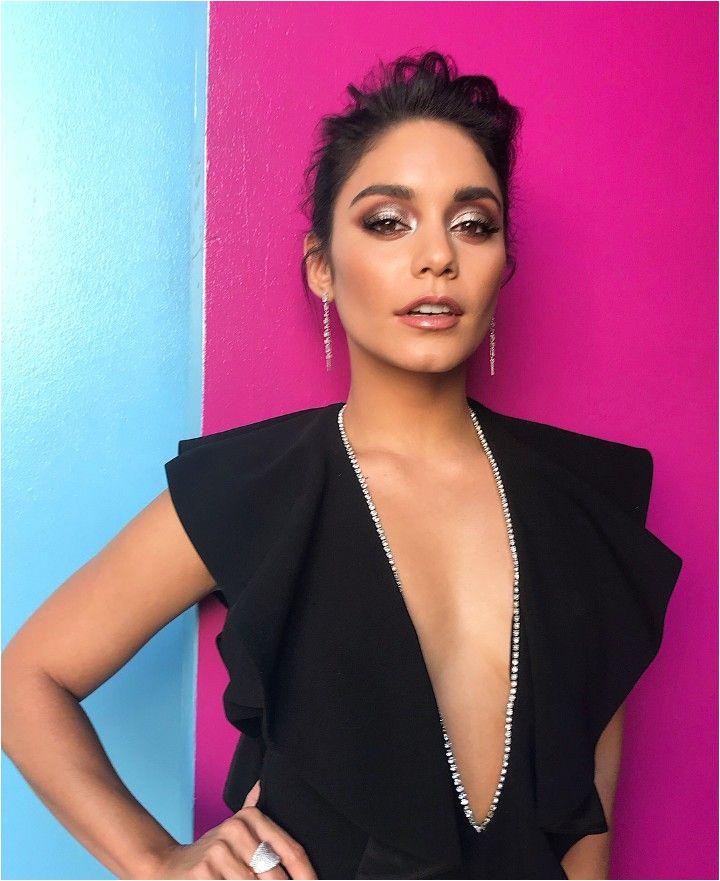 Vanessa Hudgens Black Jumpsuit Vanessa Hudgens Coachella Vanessa Hudgens Style Celebrity Style