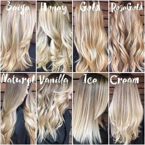 Hairstyles with Blonde Brown and Red Types Blonde Hair Color Modne Odcienie Blondu Od Platyny Po