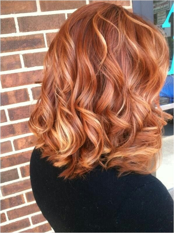 Good transition color between dark red and blonde blr